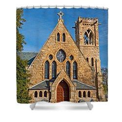Chapel At Uva Shower Curtain