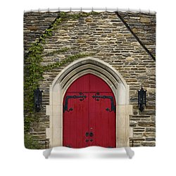 Chapel - D003211 Shower Curtain by Daniel Dempster