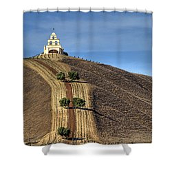 Chapel Hill Shower Curtain by Donna Kennedy