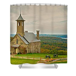 Chapel Of The Ozarks Shower Curtain