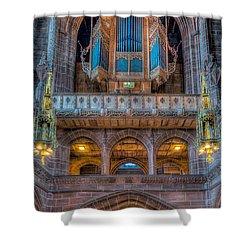 Chapel Organ Shower Curtain