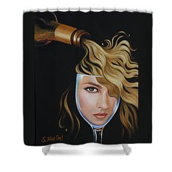 Chardonnae Shower Curtain by Sandi Whetzel