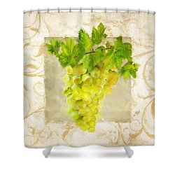 Chardonnay II Shower Curtain by Lourry Legarde