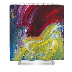 Chariot Through Hell Shower Curtain