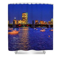 Charles River Basin 013 Shower Curtain