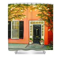 Charleston Charm Shower Curtain