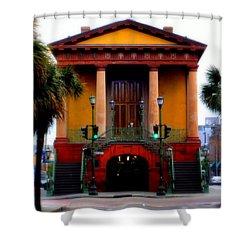 Charleston Shower Curtain by Karen Wiles
