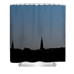 Charleston Silhouette Shower Curtain