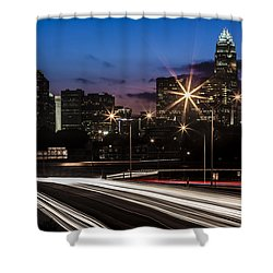 Charlotte Flow Shower Curtain by Chris Austin