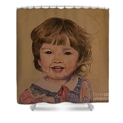 Charlotte Shower Curtain by Martin Howard
