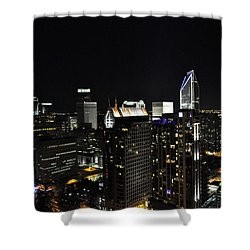 Charlotte Night Magic 2 Cnm2 P Shower Curtain by Jim Brage