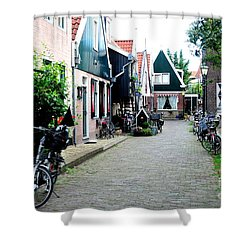 Shower Curtain featuring the photograph Charming Dutch Village by Joe  Ng