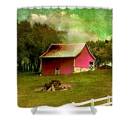 Shower Curtain featuring the photograph Chartreuse Of Legend by Liane Wright