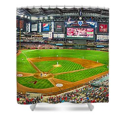 Chase Field 2013 Shower Curtain