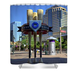 Chase Field Shower Curtain