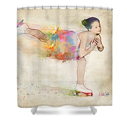 Chase Your Dreams Shower Curtain by Nikki Smith