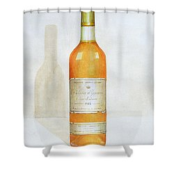 Chateau D Yquem Shower Curtain by Lincoln Seligman