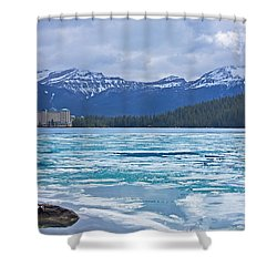 Chateau Lake Louise #2 Shower Curtain