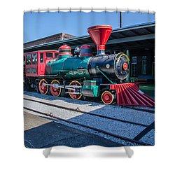 Shower Curtain featuring the photograph Chattanooga Choo Choo by Susan  McMenamin