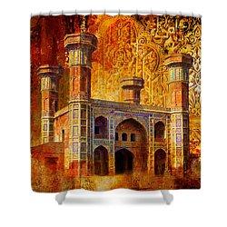 Chauburji Gate Shower Curtain by Catf