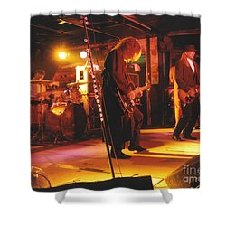 Cheap Trick-93-stage Shower Curtain by Gary Gingrich Galleries