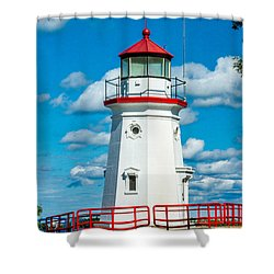 Cheboygan Crib Shower Curtain