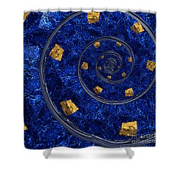 Cheese Sea By Jammer Shower Curtain by First Star Art