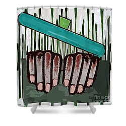 Chef Shower Curtain by Patrick J Murphy