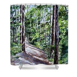 Cheraw Trail Shower Curtain