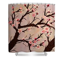 Cherry Blossom 1 Shower Curtain by Barbara Griffin