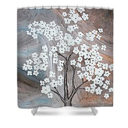 Cherry Blossom Shower Curtain by Home Art