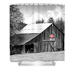 Cherry Dr Pepper Shower Curtain