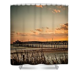 Cherry Grove Pier Myrtle Beach Sc Shower Curtain