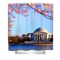 Cherry Jefferson Shower Curtain