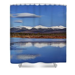 Cherry Pond Lenticulars Shower Curtain