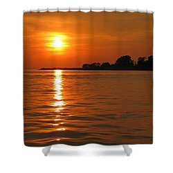 Chesapeake Sun Shower Curtain by Photographic Arts And Design Studio