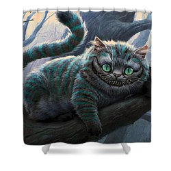 Cheshire Cat Shower Curtain