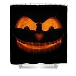 Cheshire Cat Shower Curtain by Shawn Dall