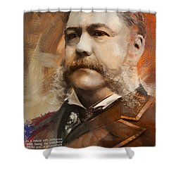 Chester A. Arthur Shower Curtain by Corporate Art Task Force