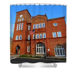 Chester City Hall Shower Curtain