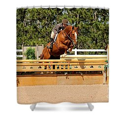 Chestnut Hunter Shower Curtain