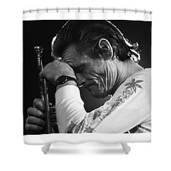 Chet Baker 1 Shower Curtain