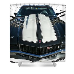 Chevy Camaro Z28 Shower Curtain