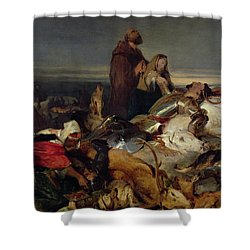 Chevy Chase Shower Curtain by Sir Edwin Landseer