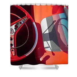 Chevy Impala Shower Curtain