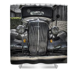 Chevy Shower Curtain by Jean Noren