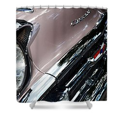 Chevy Shower Curtain by Michelle Calkins