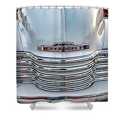 Shower Curtain featuring the photograph Chevy Pickup Classic by Dyle   Warren