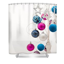 Chic Tree Shower Curtain by Anne Gilbert