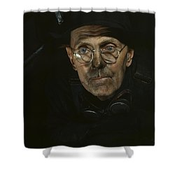 Chicago Boilermaker 1942 Shower Curtain by Mountain Dreams